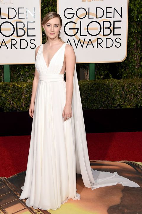 Saoirse-Ronan-white-saint-laurent-couture-dress-golden-globes-2016