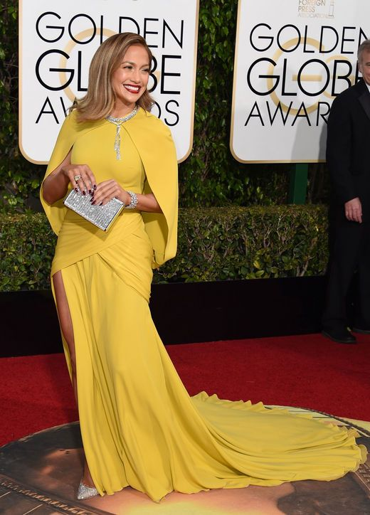 jennifer-lopez-giambattista-valli-yellow-dress-golden-globes-2016