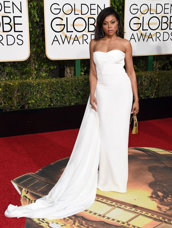 taraji-p-henson-white-stella-mccartney-dress-golden-globes-2016