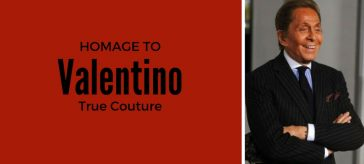 Valentino..the passionate designer from Italy