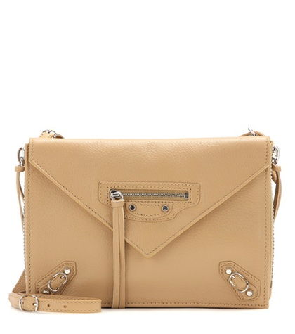 Papier Leather Shoulder Bag