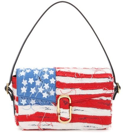 American Flag shoulder bag