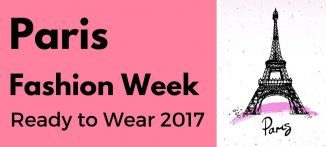 Paris Fashion Week Week 2017 Ready to Wear