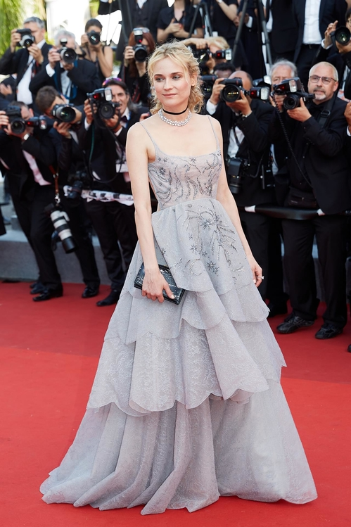 Diane Kruger in Dior Haute Couture