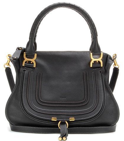 Marcie Medium leather shoulder bag