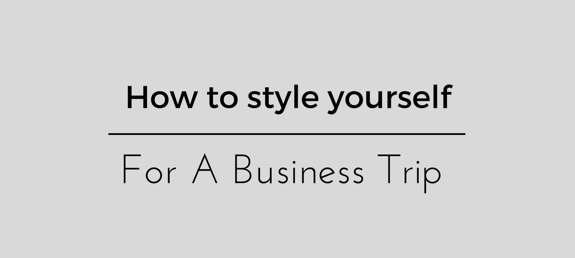 How to style yourself (1)