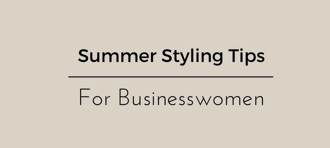 Styling Tips For Businesswomen