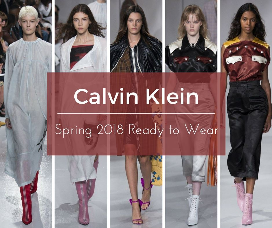 e4338ce2d9 Calvin Klein Spring 2018 Ready to Wear - Jinnie Femme