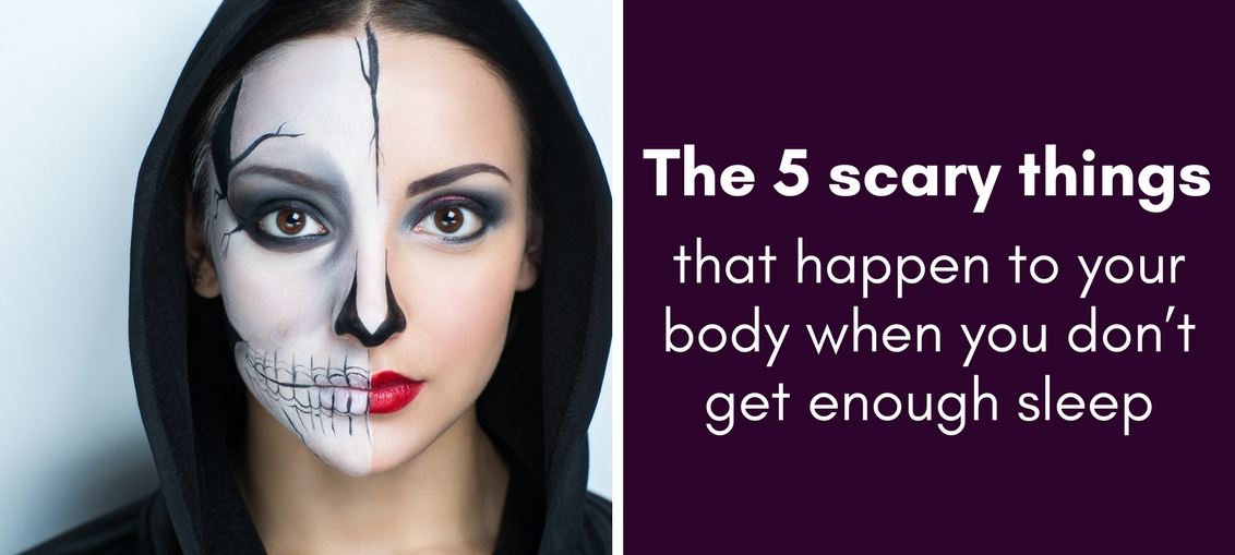 The 5 scary things that happen to your body when you don't get enough sleep
