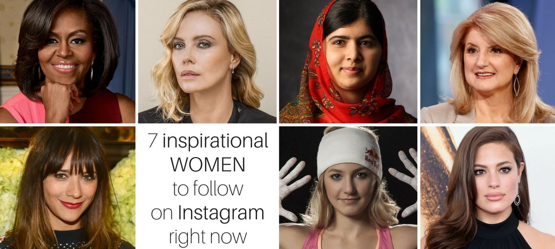 7 inspirational women to follow on Instagram right now