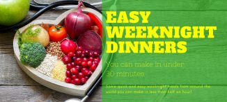 For the businesswoman, easy weeknight dinners you can make in under 30 minutes