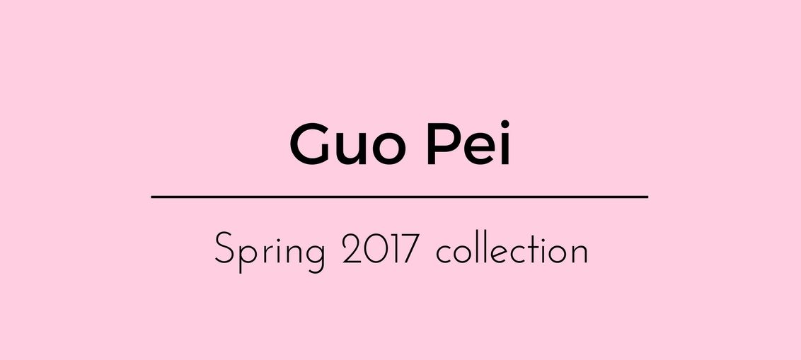Guo Pei Spring 2017 collection