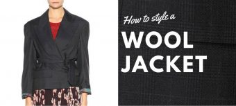 How to style a wool jacket