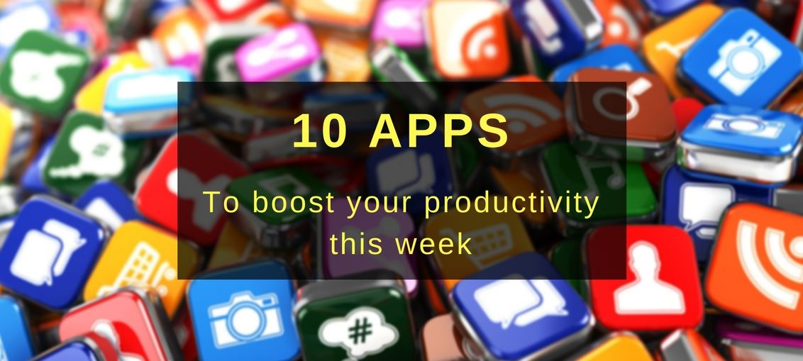 10 apps to boost your productivity this week