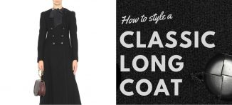 How to Style a Classic Long Coat