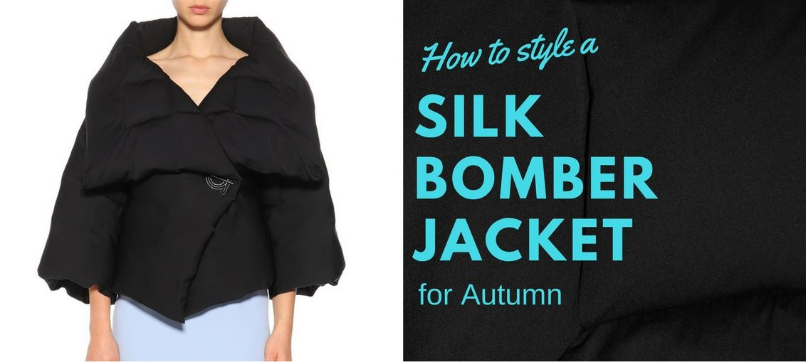 How to Style a Silk Bomber Jacket for Autumn