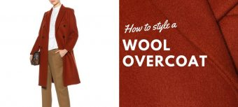How to style a wool overcoat