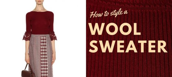 How to style a wool sweater