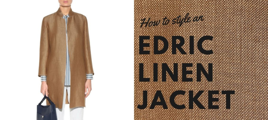 How to style an edric linen jacket