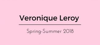 Veronique Leroy Spring-Summer 2018