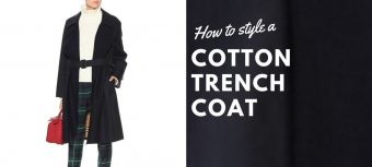How to style a cotton trench coat - for the modern businesswoman