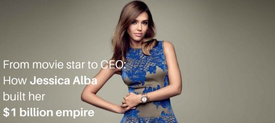From movie star to CEO – how Jessica Alba built her $1 billion empire