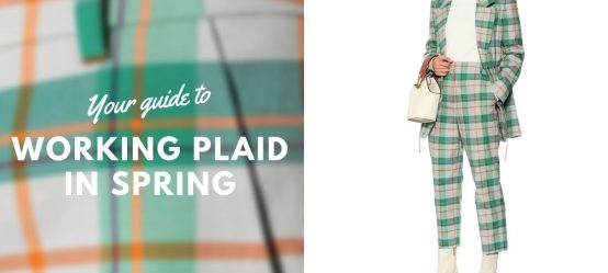 Your guide to working plaid in spring!